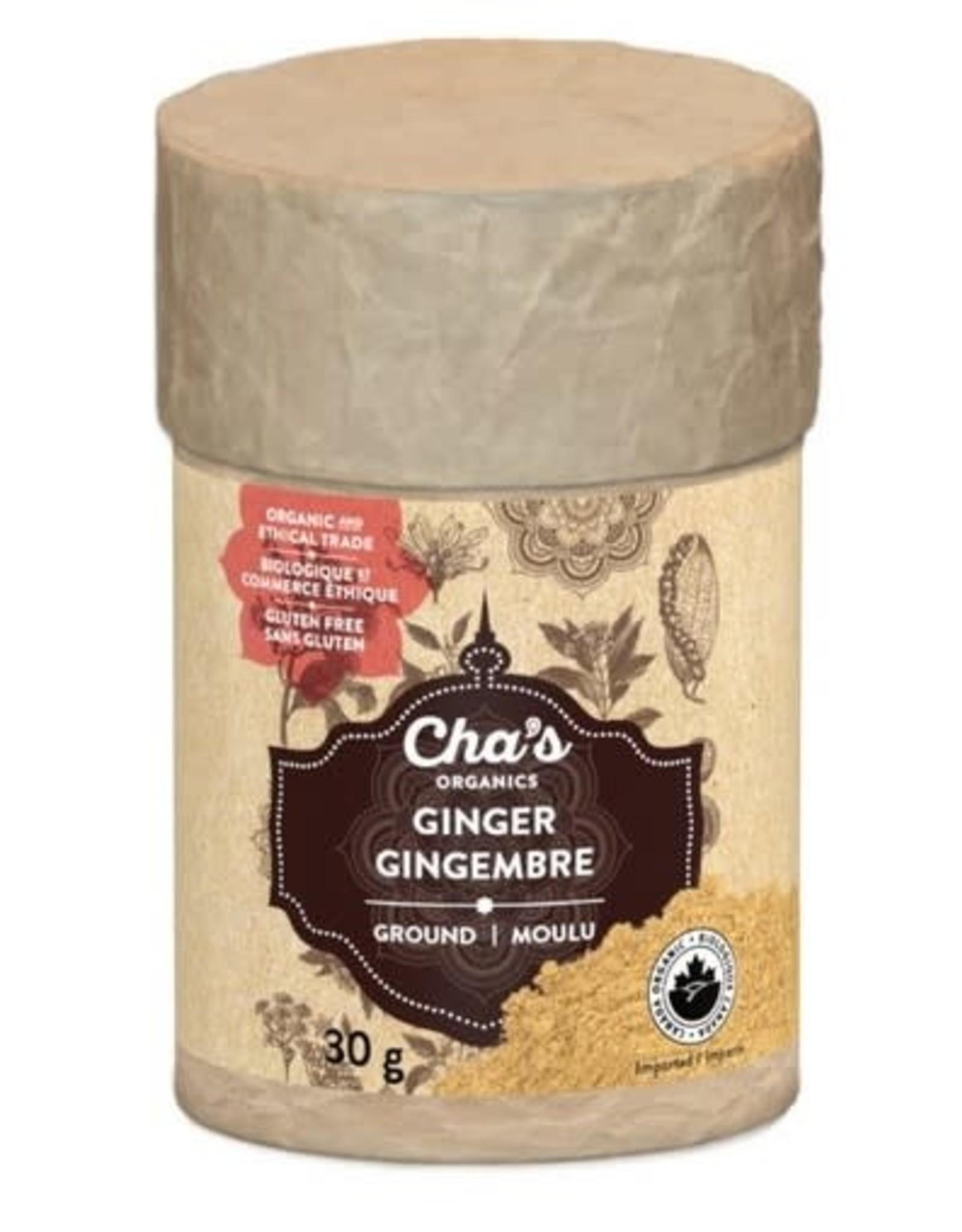 Cha's Organics Cha's Ground Ginger (30g)