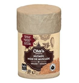 Cha's Organics Ground Nutmeg 30g
