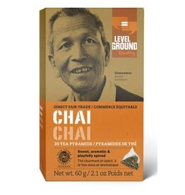 Level Ground Trading Level Ground Bagged Chai Tea