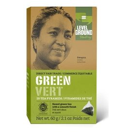 Level Ground Trading Level Ground Bagged Green Tea