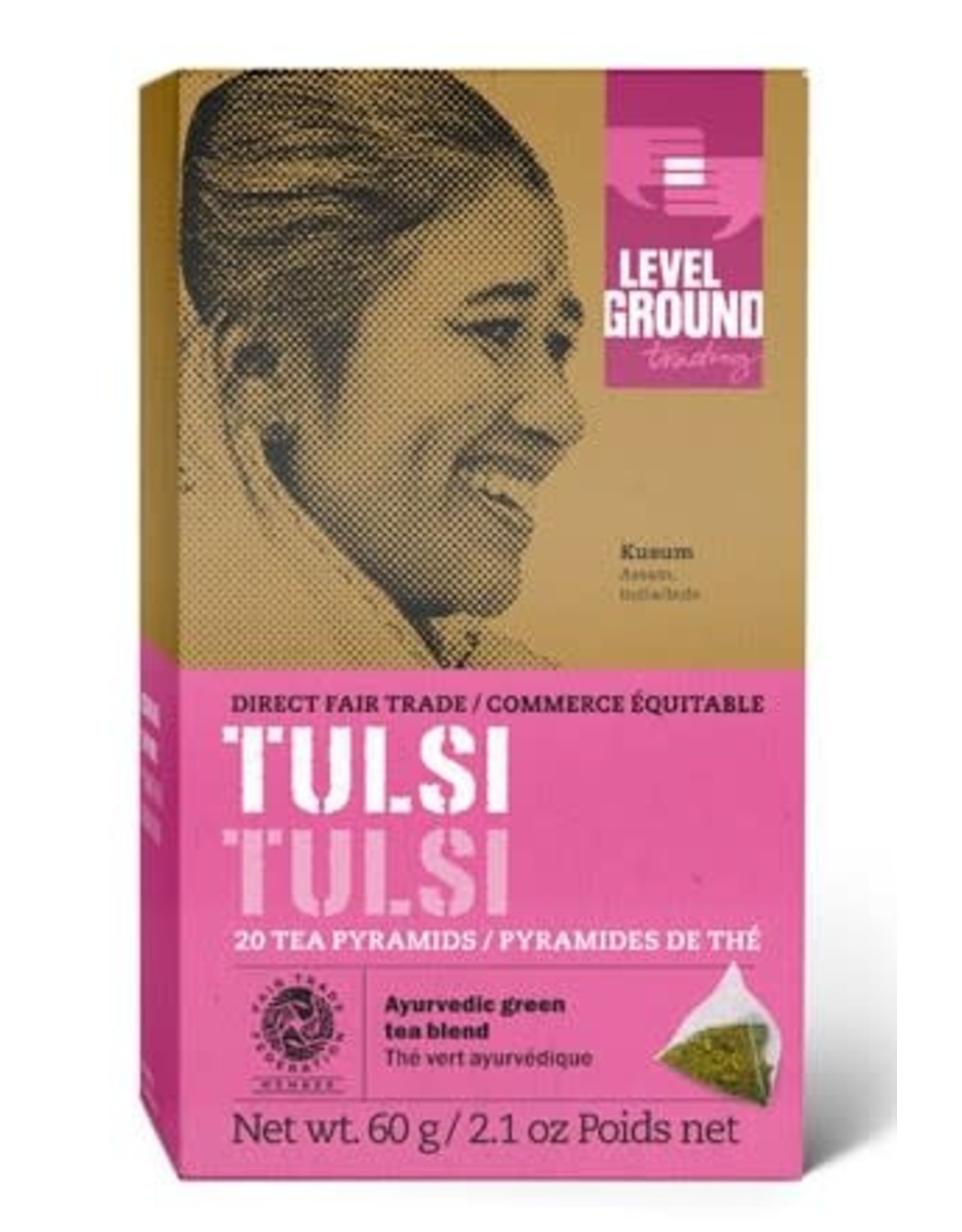 Level Ground Trading Level Ground Bagged Tulsi Tea
