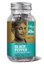 Level Ground Trading Black Pepper Whole 75g