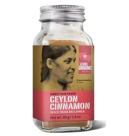 Level Ground Trading Cinnamon 80g