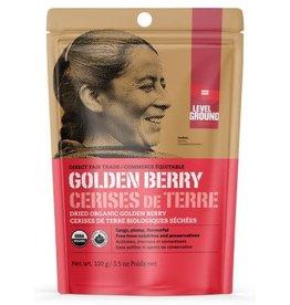 Level Ground Trading Premium Organic Dried Golden Berry