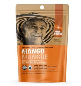 Level Ground Trading Premium Organic Dried Mango