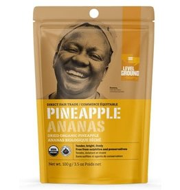Level Ground Trading Premium Organic Dried Pineapple