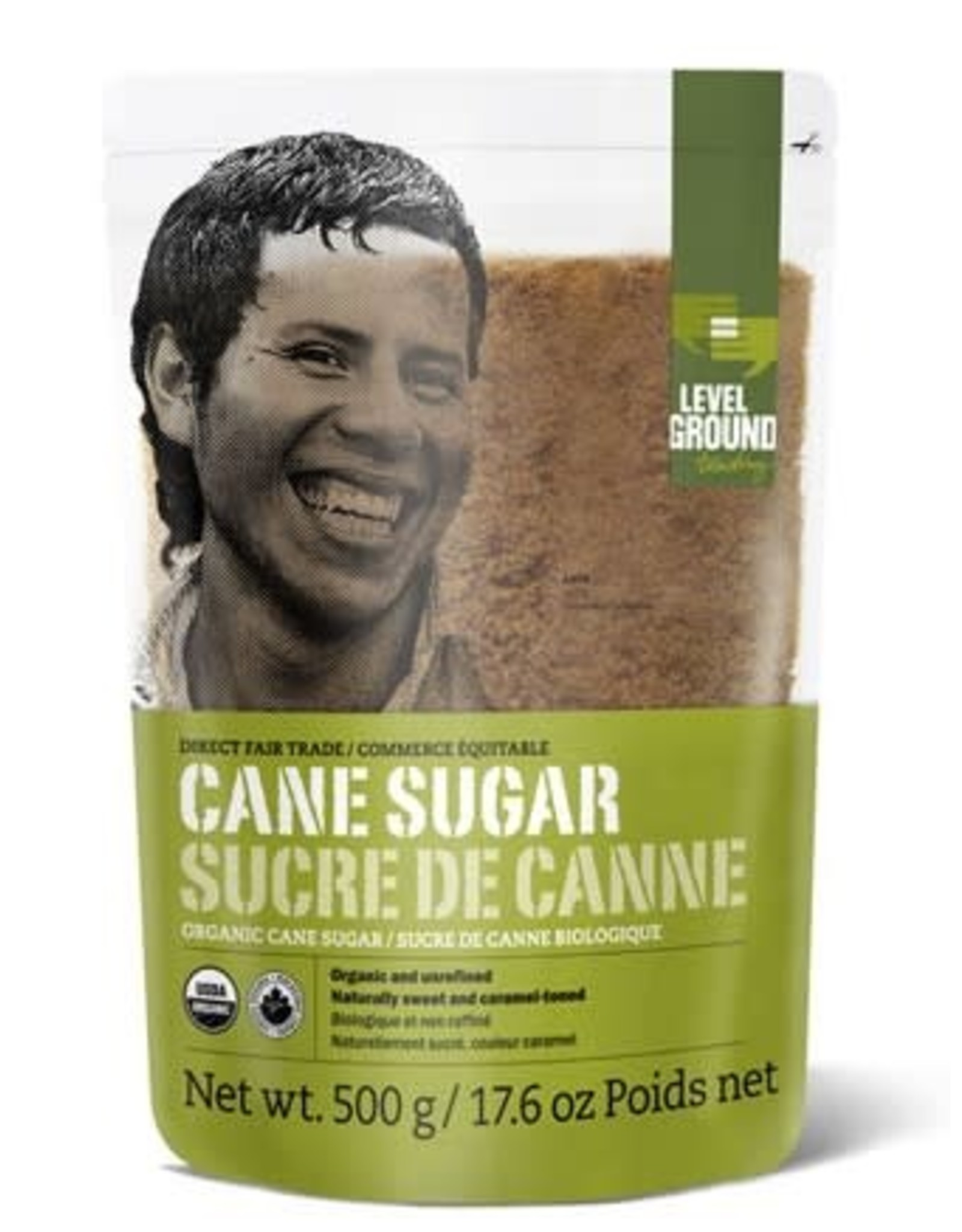 Level Ground Trading Level Ground Cane Sugar 500g