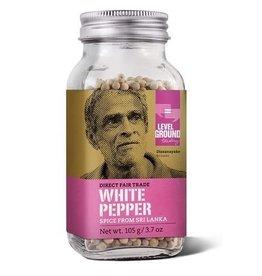 Level Ground Trading White Pepper Corns 105g