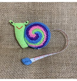 Ten Thousand Villages Crocheted Snail Tape Measure