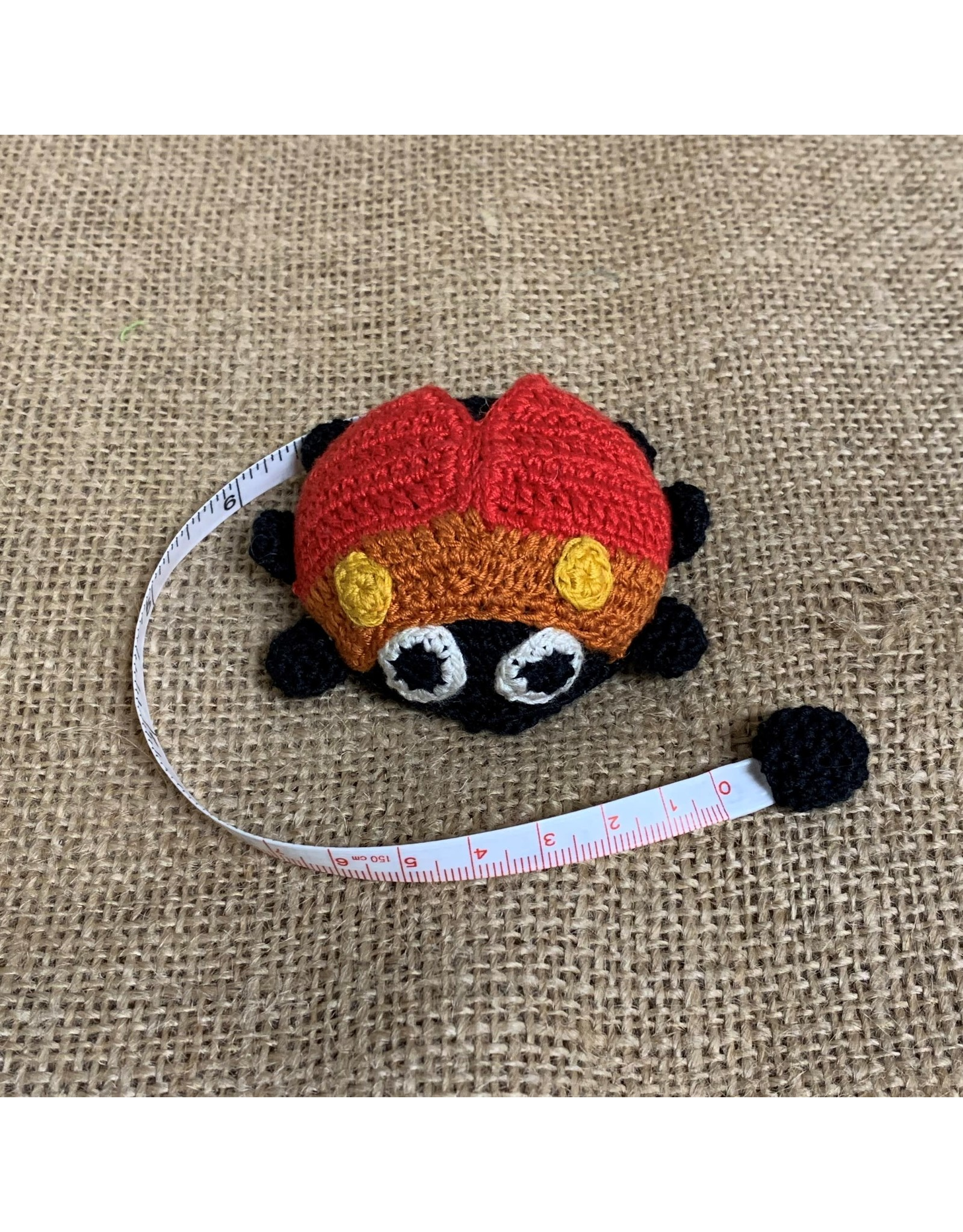 Ten Thousand Villages Ladybug Measuring Tape