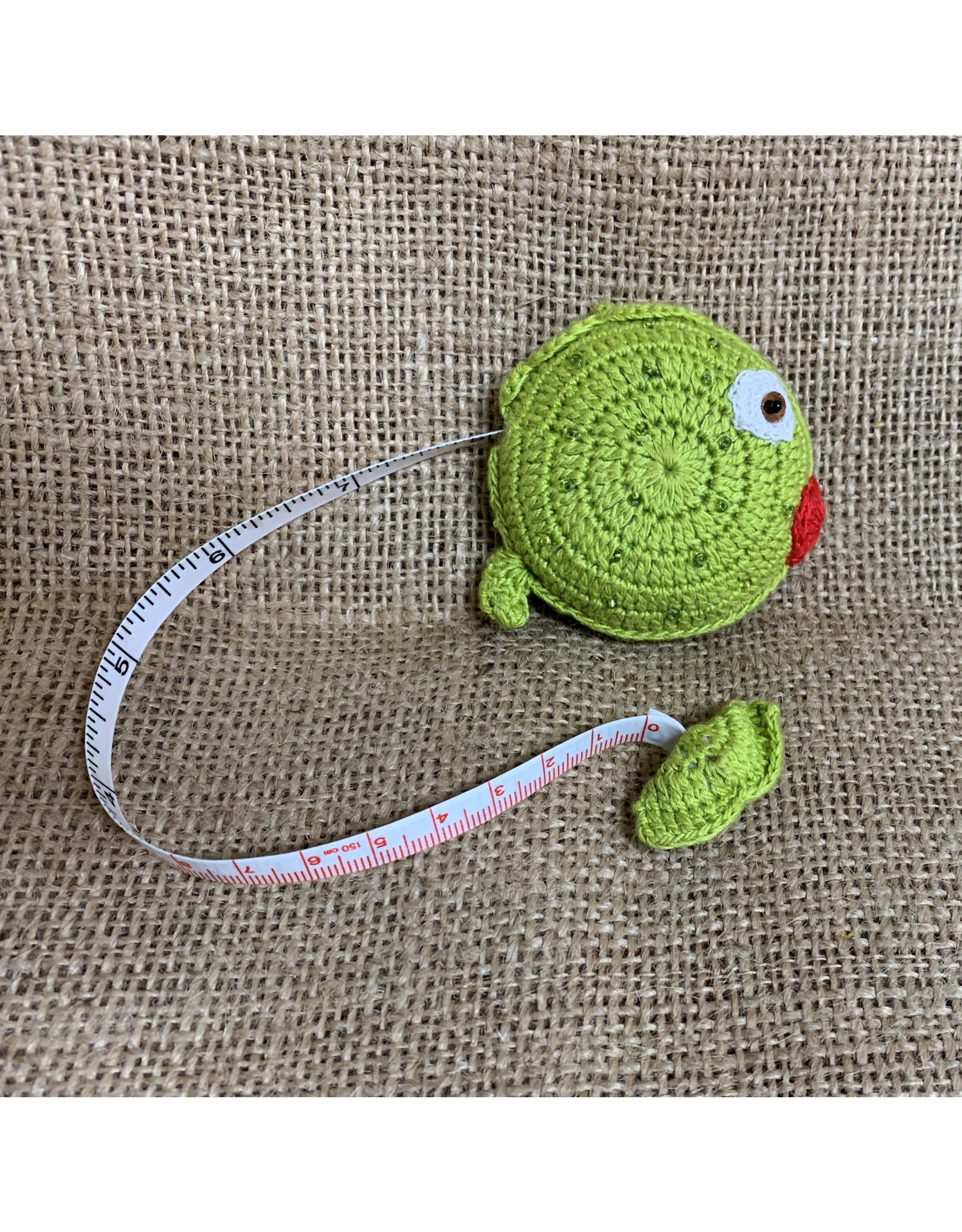Ten Thousand Villages Fish Measuring Tape