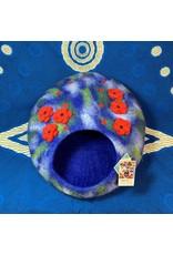 Hamro Village Blue Poppy Cat Cave