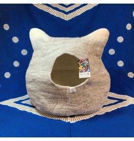 Hamro Village Grey Cat Bed