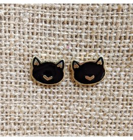 Earrings Kit Cat Studs, India