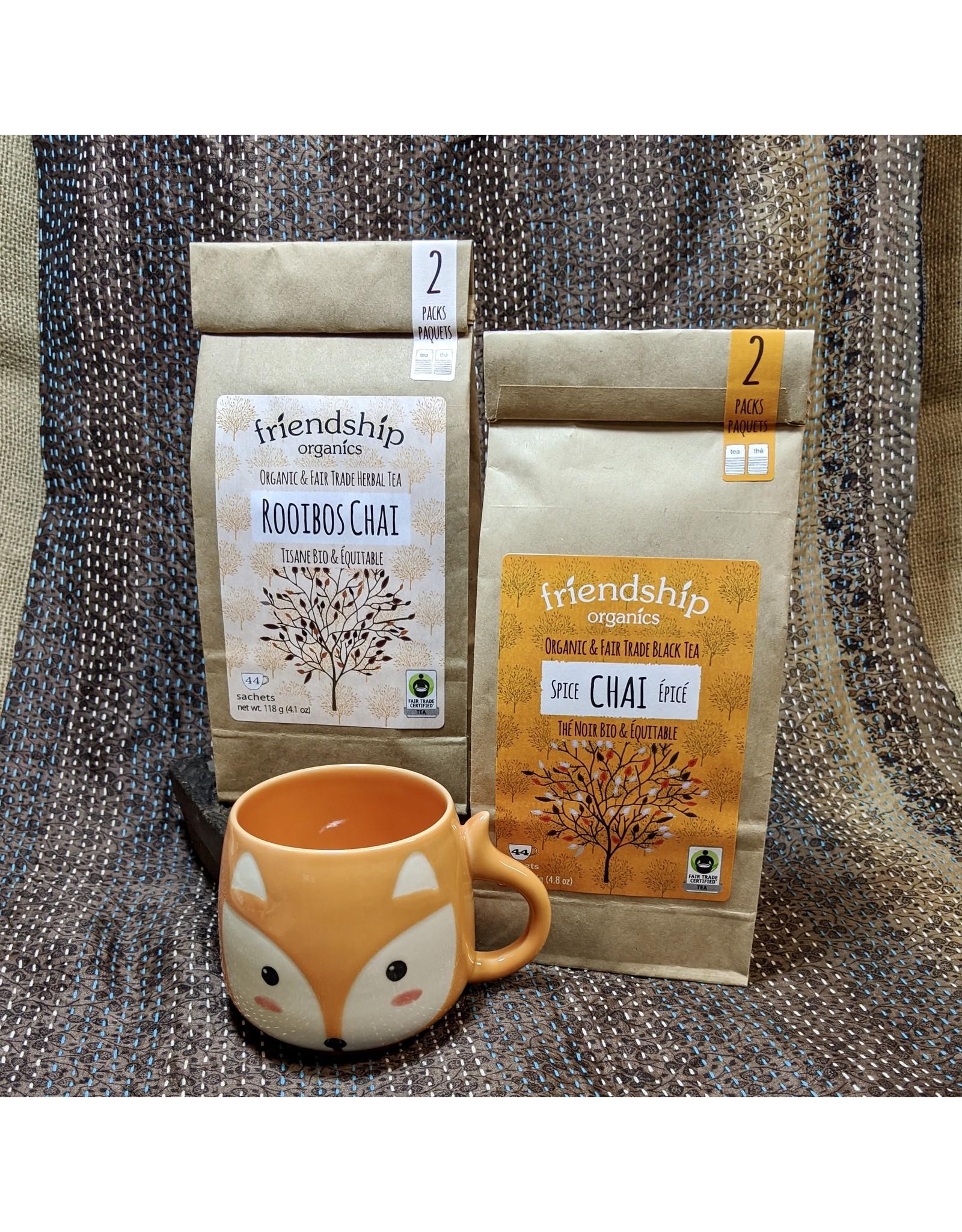 Friendship Organics Friendship Organics Spice Chai Black Tea Twin Pack