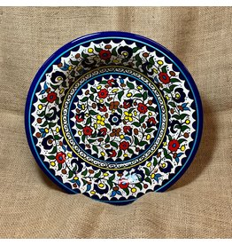 Ten Thousand Villages Wild Flowers Ceramic Platter
