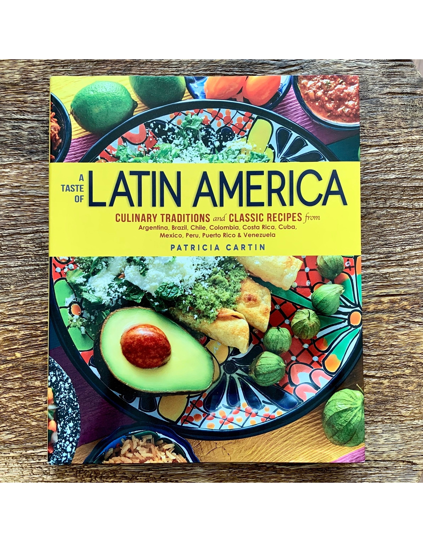 "Penguin Random House Cookbook ""A Taste of Latin America"""