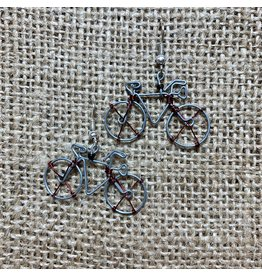 Ten Thousand Villages Cycling Whimsy Earrings