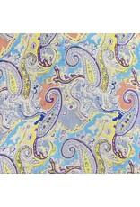 Ten Thousand Villages Multicolor Paisley Scarf