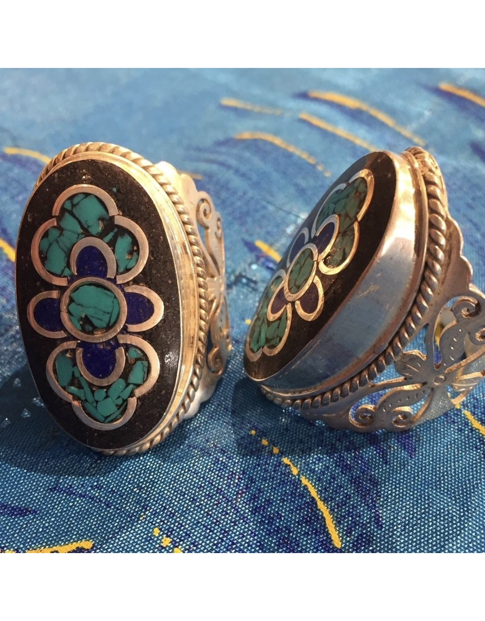 Ten Thousand Villages CLEARANCE Full Flower Ring