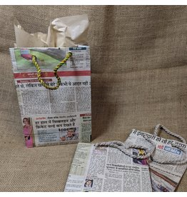Matr Boomie Eco News Gift Bag, Medium