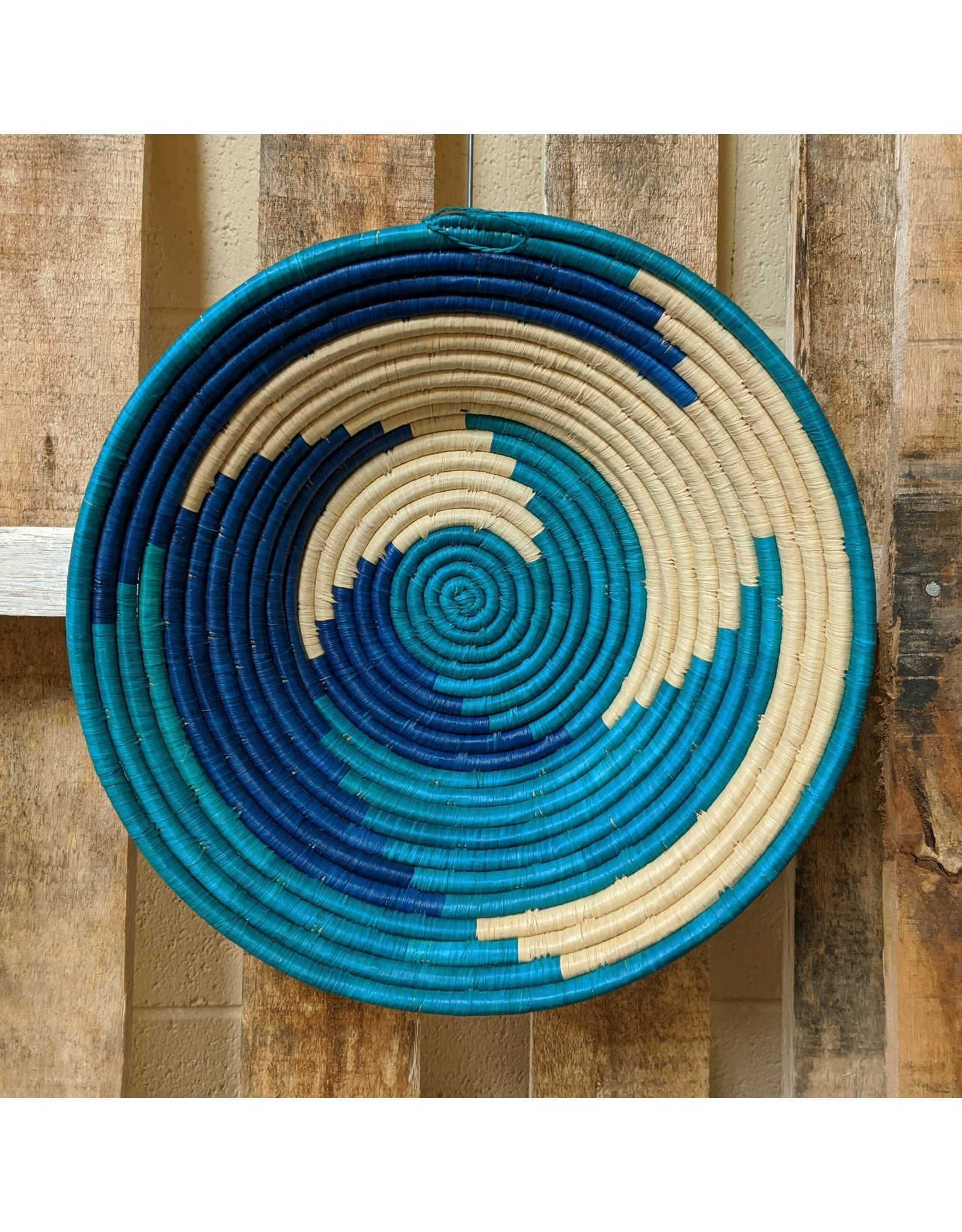 Ten Thousand Villages Swirls And Coils Basket