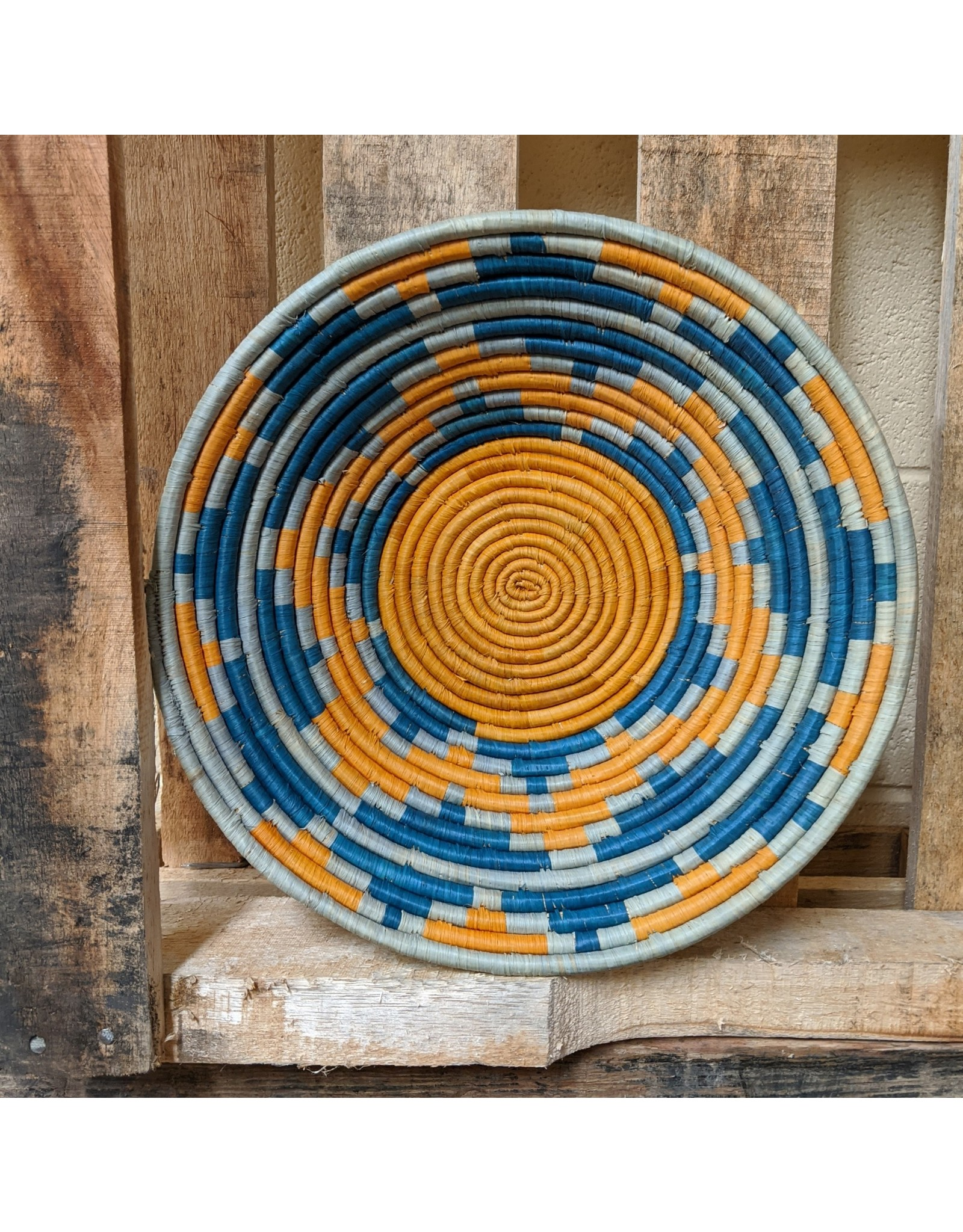 Ten Thousand Villages Sunshine's Burst Woven Basket