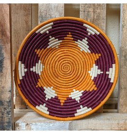 Ten Thousand Villages CLEARANCE Sunshine's Warmth Woven Basket, Uganda