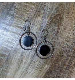 Ten Thousand Villages Dark Moon Ebony Earrings