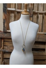 Ten Thousand Villages Dipped Gold Necklace