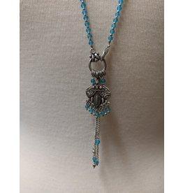 Ten Thousand Villages Silver Treasures Pendant Necklace