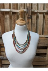 Ten Thousand Villages Treasure Trove Beaded Necklace