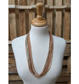 Ten Thousand Villages Pastel Beaded Necklace