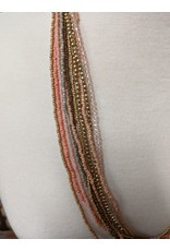 Ten Thousand Villages Pastel Beaded Necklace