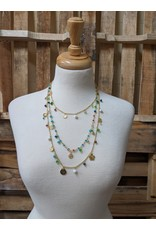 Ten Thousand Villages CLEARANCE  Three Strand Beaded Necklace, India