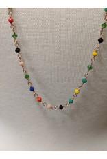 Ten Thousand Villages Necklace multicolour Mini Beads