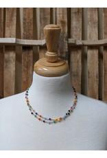 Ten Thousand Villages Multicolour Mini Bead Necklace, India