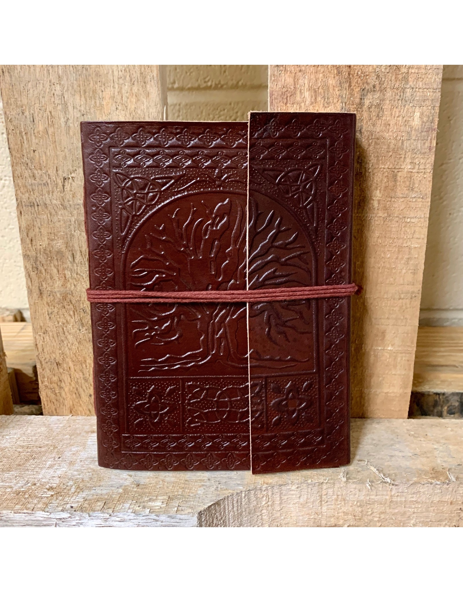 Ten Thousand Villages Ancient Tree Embossed Journal