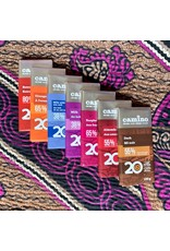 Camino Camino Almonds 55% dark choc bar 100g