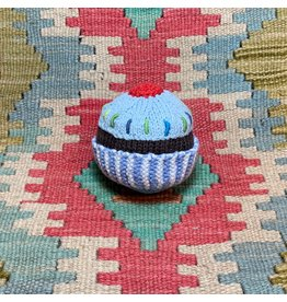 Pebble Blue Cupcake Rattle, Bangladesh