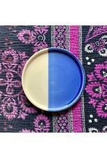 Ten Thousand Villages CLEARANCE Blue and White Ceramic Plate