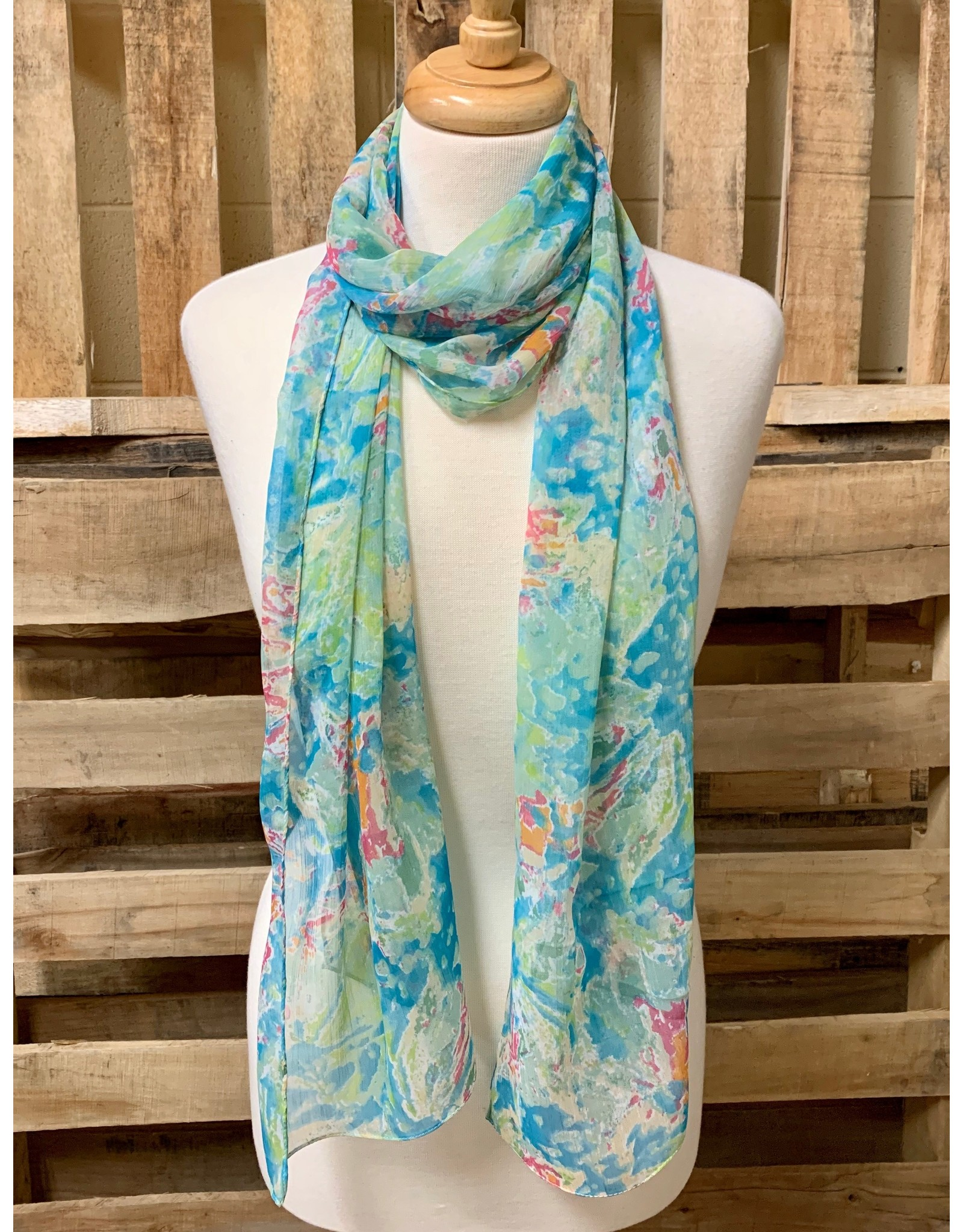 Ten Thousand Villages Make A Splash Scarf