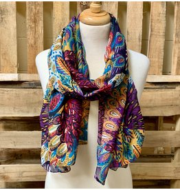 Ten Thousand Villages Fine Feather Scarf
