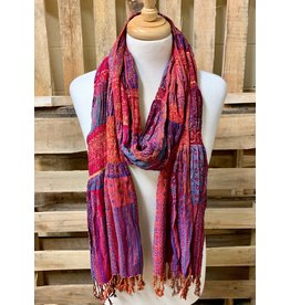 Ten Thousand Villages Perfectly Paired Viscose Scarf