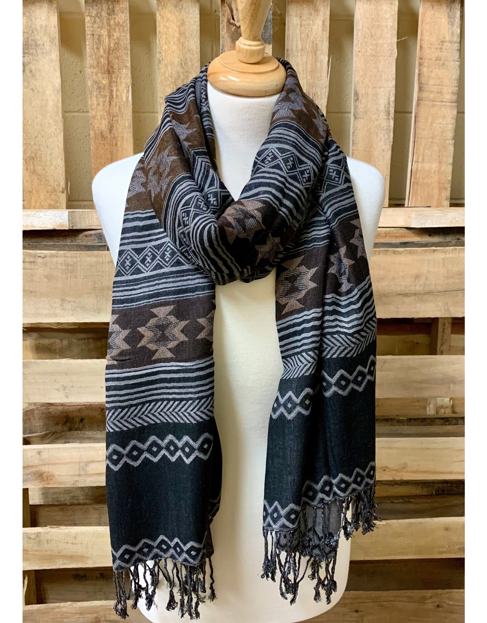 Ten Thousand Villages Desert Nights Blanket Scarf