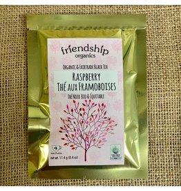 Friendship Organics Tea Sampler-Raspberry-4 Bags per Pack