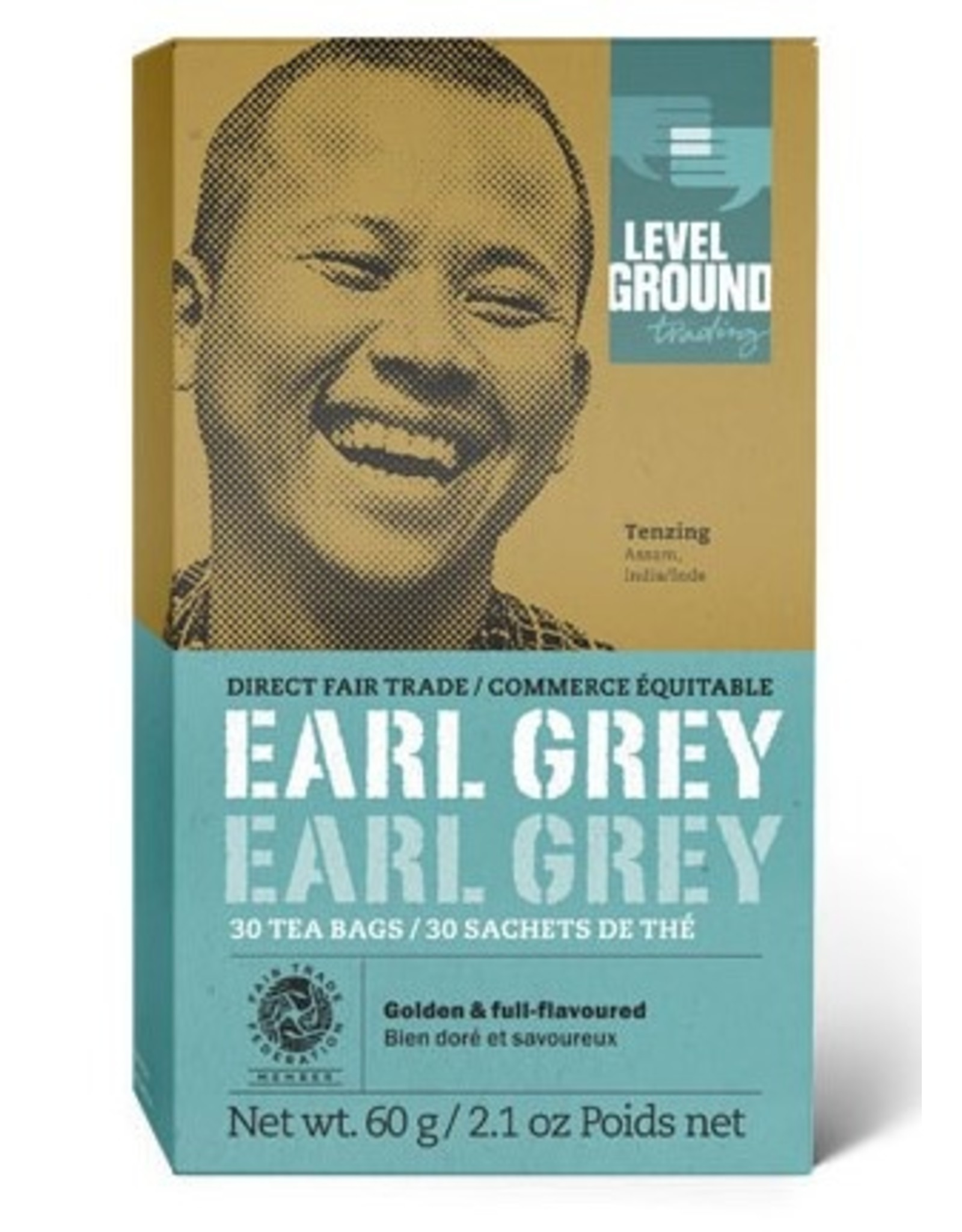 Level Ground Trading Level Ground Bagged Earl Grey Tea