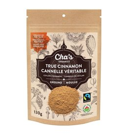 Cha's Organics Cha's Ground True Cinnamon (130g)