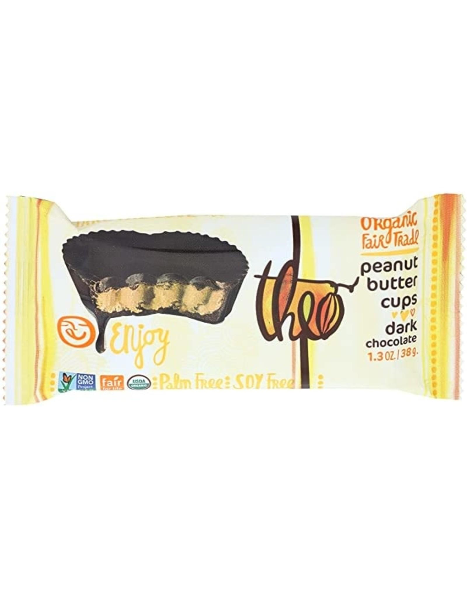Theo Theo - Dark Chocolate Peanut Butter Cups
