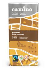 Camino Camino Espresso 55% dark choc bar 100g